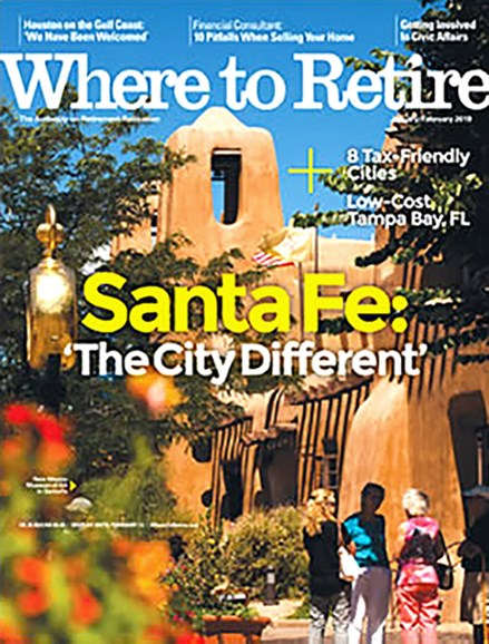 Where To Retire Cover - 1/1/2019