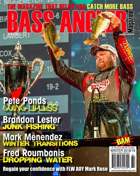 Bass Angler Cover - 12/1/2018