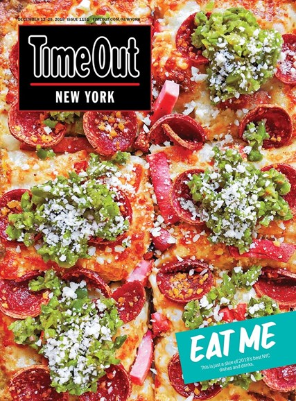 Time Out New York Cover - 12/12/2018