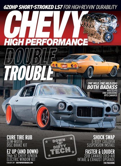 Chevy High Performance Cover - 2/1/2019