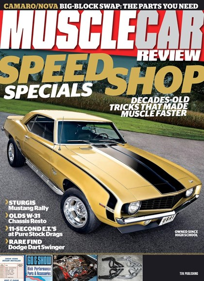 Muscle Car Review Cover - 1/1/2019