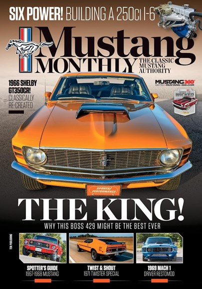 Mustang Monthly Cover - 1/1/2019