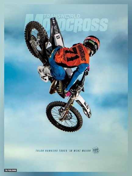 Transworld Motocross Cover - 1/1/2019