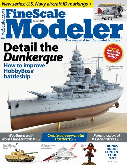 Finescale Modeler Cover - 1/1/2019