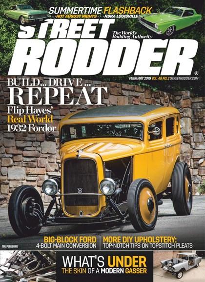 Street Rodder Cover - 2/1/2019