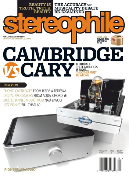 Stereophile Cover - 1/1/2019
