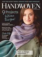 Handwoven Magazine 1/1/2019