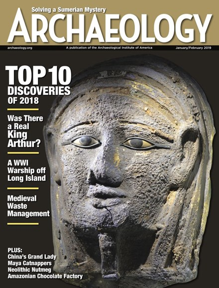 Archaeology Cover - 1/1/2019