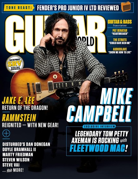 Guitar World Cover - 1/1/2019
