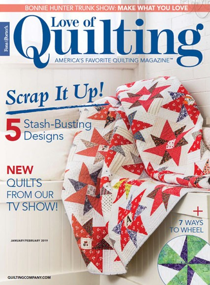 Fons & Porter's Love of Quilting Cover - 1/1/2019