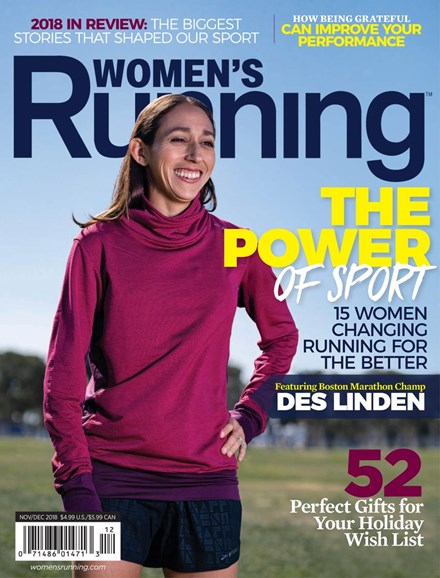 Women's Running Cover - 11/1/2018