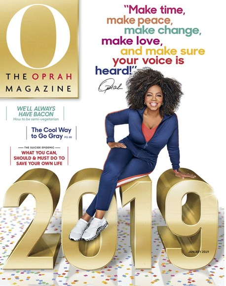 O The Oprah Cover - 1/1/2019