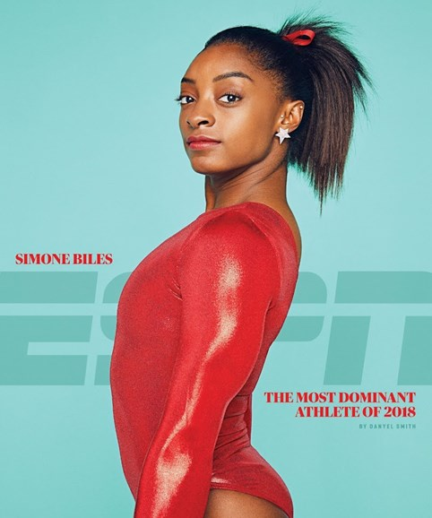 ESPN The Magazine Cover - 12/1/2018
