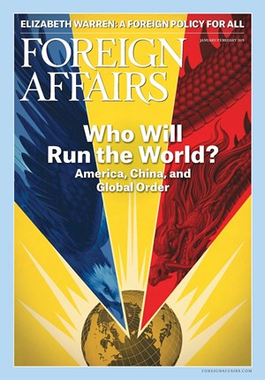 Foreign Affairs Magazine | 1/1/2019 Cover