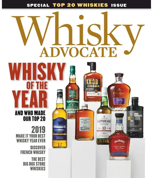 Whisky Advocate Cover - 12/1/2018