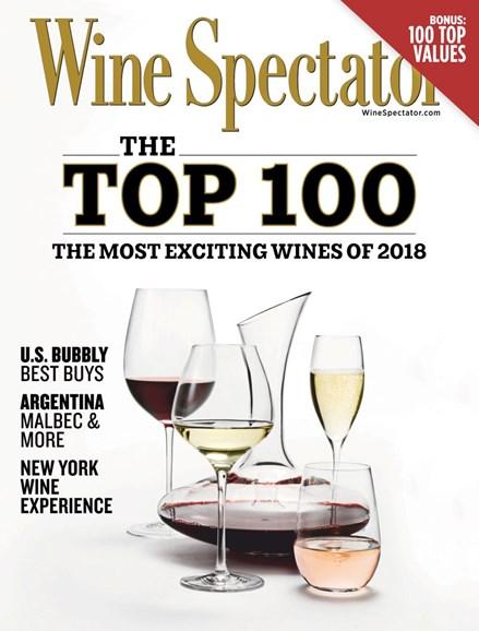 Wine Spectator Cover - 12/31/2018