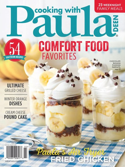 Cooking With Paula Deen Cover - 1/1/2019