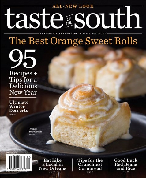 Taste of the South Cover - 1/1/2019