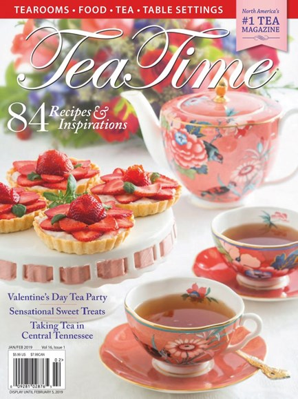 Tea Time Cover - 1/1/2019