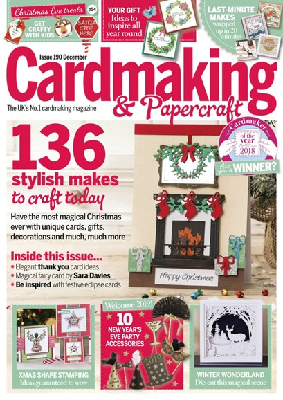 CardMaking & PaperCrafts Cover - 12/1/2018