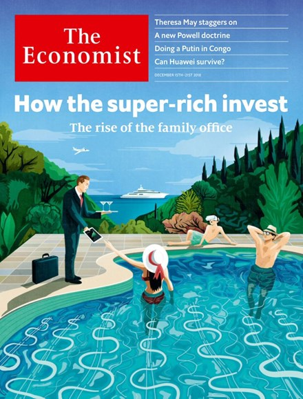 The Economist Cover - 12/15/2018