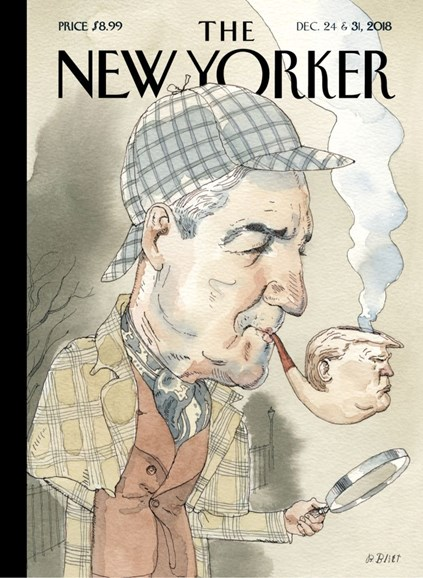 The New Yorker Cover - 12/24/2018