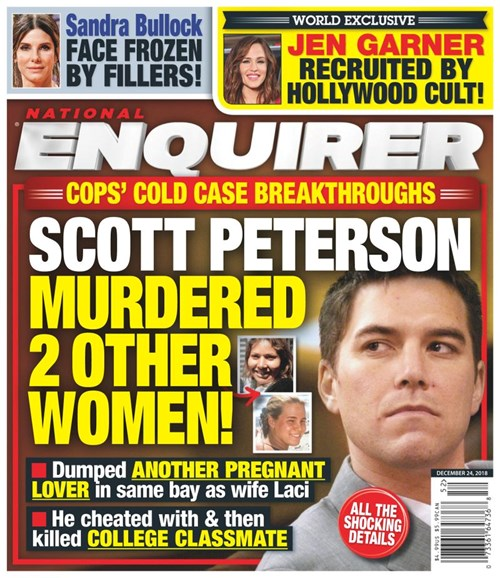 National Enquirer Cover - 12/24/2018