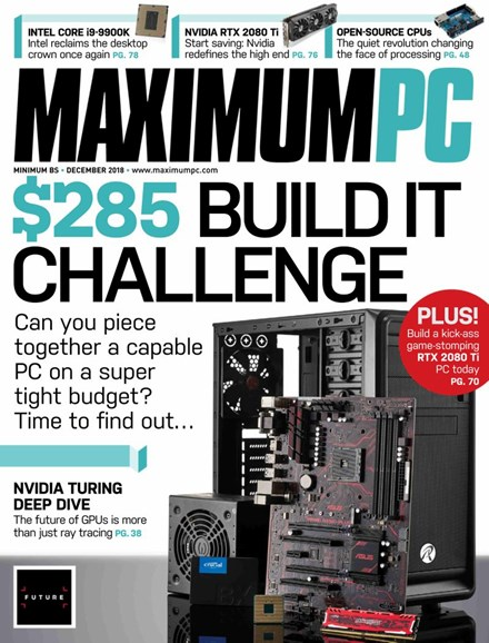 Maximum PC Cover - 12/1/2018
