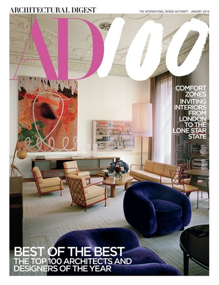 Architectural Digest Cover - 1/1/2019