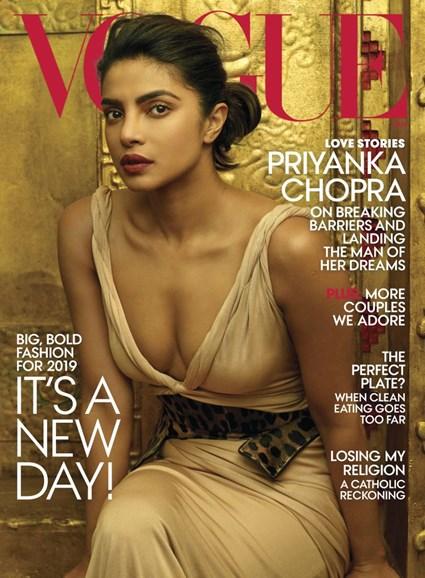 Vogue Cover - 1/1/2019