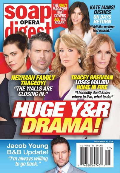 Soap Opera Digest Cover - 12/10/2018