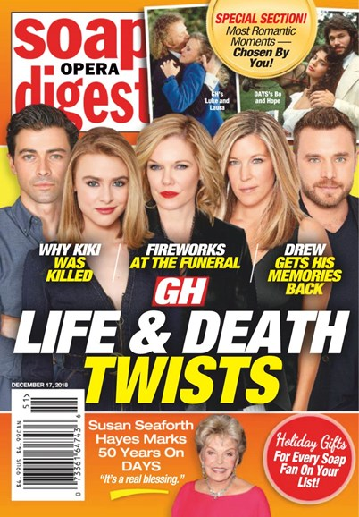 Soap Opera Digest Cover - 12/17/2018