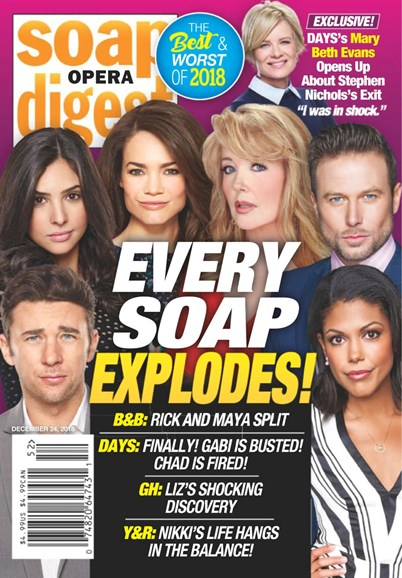 Soap Opera Digest Cover - 12/24/2018