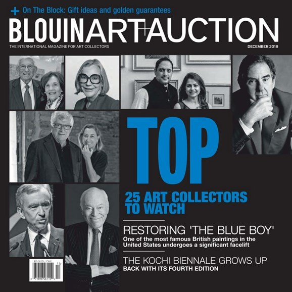 Blouin Art & Auction Cover - 12/1/2018