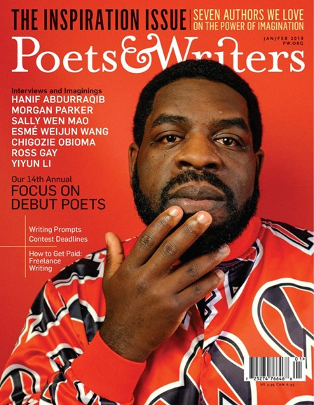 Poets & Writers Cover - 1/1/2019