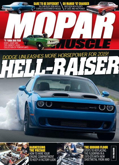 Mopar Muscle Cover - 3/1/2019