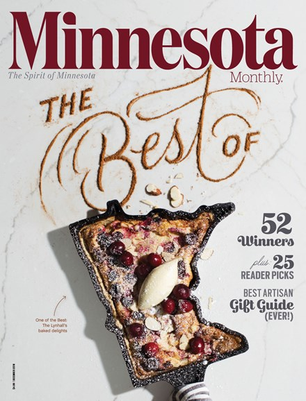 Minnesota Monthly Cover - 12/1/2018