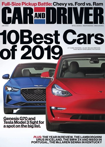 Car And Driver Cover - 1/1/2019