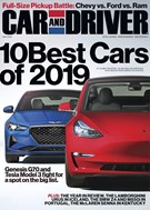 Car And Driver Magazine 1/1/2019