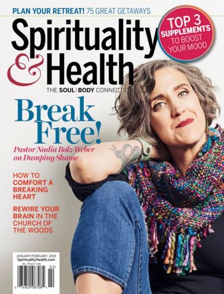 Spirituality & Health Cover - 1/1/2019