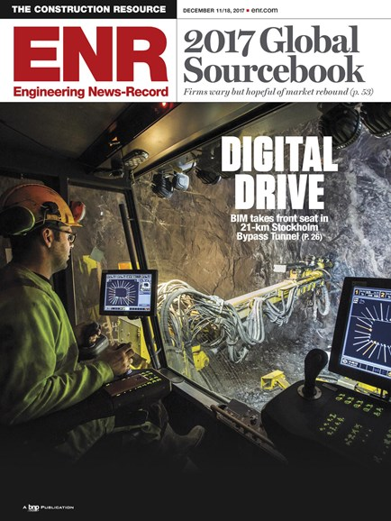 Engineering News Record Cover - 12/11/2018
