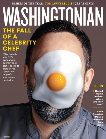 Washingtonian Cover - 12/1/2018