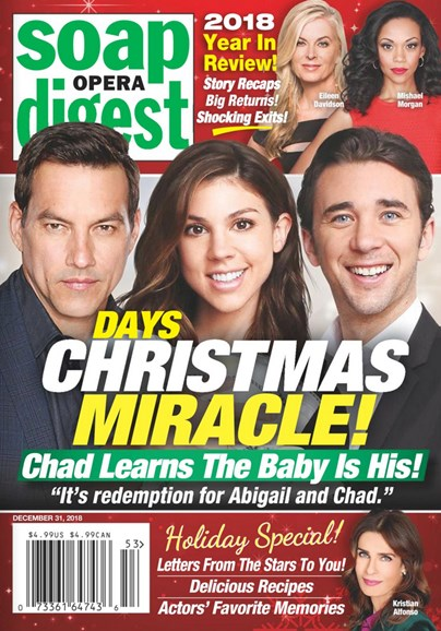 Soap Opera Digest Cover - 12/31/2018