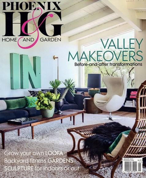 Phoenix Home & Garden Cover - 1/1/2019