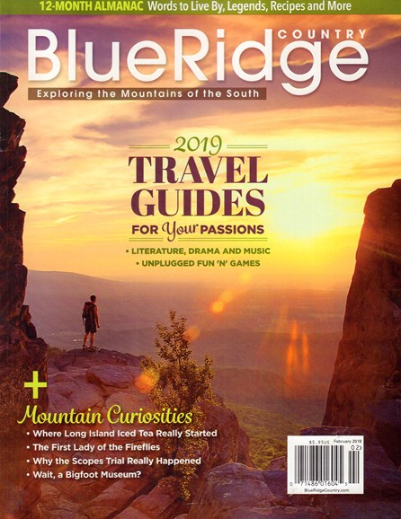 Blue Ridge Country Cover - 2/1/2019