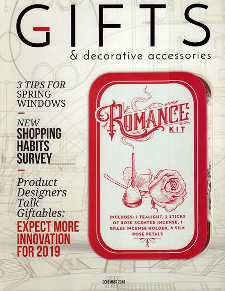 Gifts And Decorative Accessories Cover - 12/1/2018