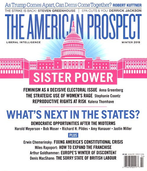 The American Prospect Cover - 1/1/2019