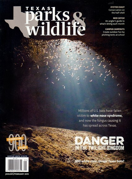 Texas Parks & Wildlife Cover - 1/1/2019
