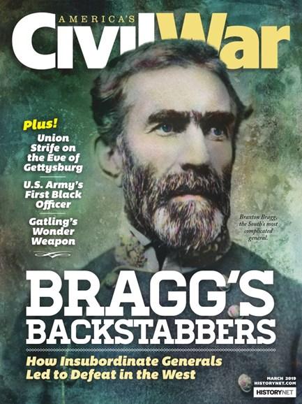 America's Civil War Cover - 3/1/2019