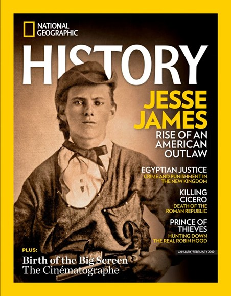 National Geographic History Cover - 1/1/2019